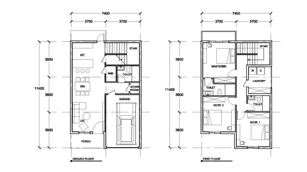 HD001 FLoor Plan